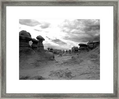 Goblin Path Framed Print