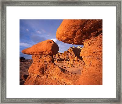 Goblin Sunset Framed Print