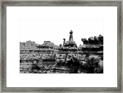 Goblin Tower Framed Print
