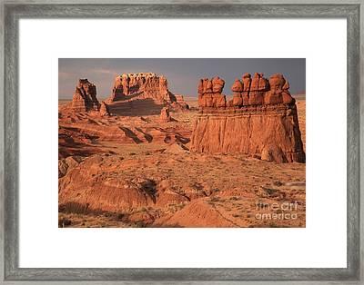Goblin Valley Landscape Framed Print
