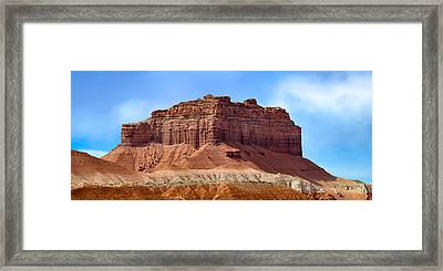 Goblin Valley Pano 2 Framed Print