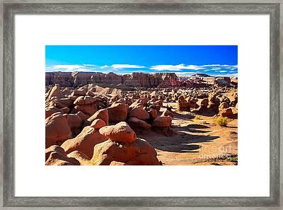 Goblin Valley  Framed Print