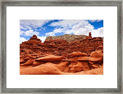 Goblin Valley State Park Framed Print