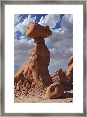 Goblin Valley State Park - Utah Framed Print by Mike McGlothlen