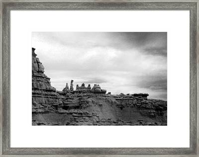 Goblin Valley Framed Print