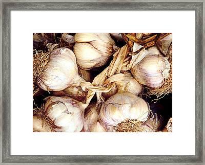 Gobs Og Garlic Framed Print