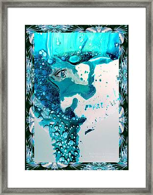 God 4 New Face Of Framed Print