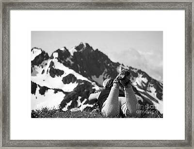 God... Are You There... Framed Print