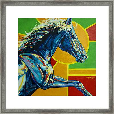God Dog Framed Print by Derrick Higgins