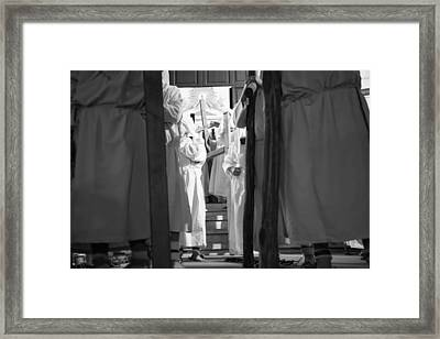 God Door Framed Print by Damiano Quattrone