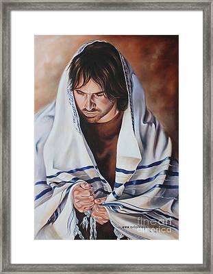 God Hears Framed Print