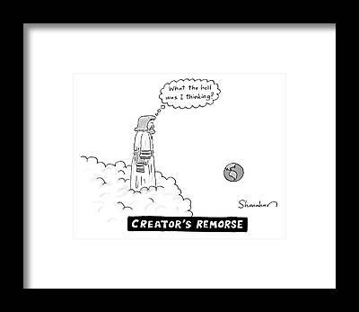 Creationism Framed Prints