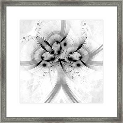 God Particle 1 Framed Print