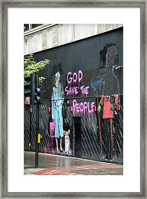 God Save The People Framed Print by RicardMN Photography