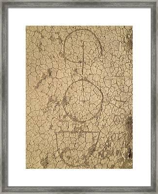 God Framed Print by Selia Hansen