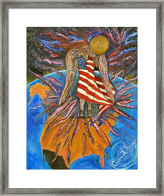 God Shed His Grace On Thee Framed Print by Cassie Sears