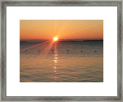 Framed Print featuring the photograph God Showed Up by Joetta Beauford