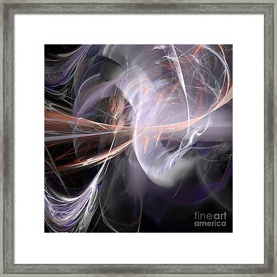 Framed Print featuring the digital art God Speed by Margie Chapman