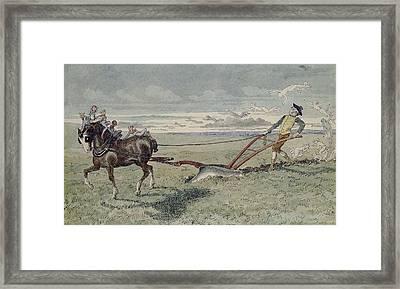 God Speed The Plough Framed Print