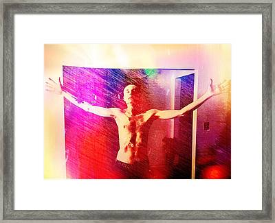 God Strong Framed Print