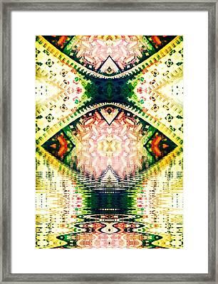 Go'd Tears Framed Print by Candee Lucas