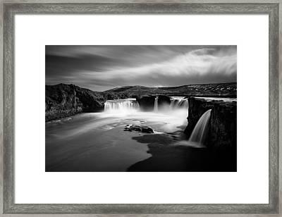 Godafoss Framed Print by Dave Bowman