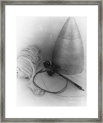 Goddards Rocket Components 1935 Framed Print by Science Source