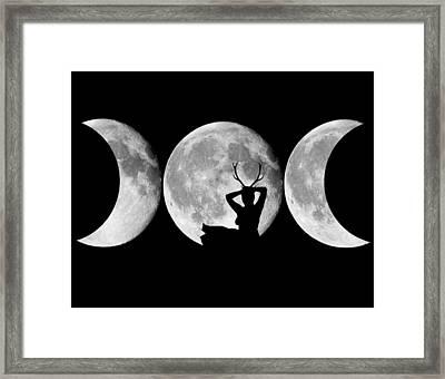 Goddess  Framed Print by Andrew  Kemp