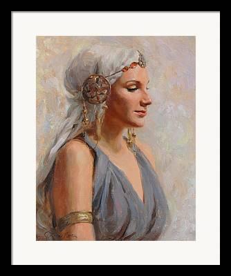 Goddess Mythology Paintings Framed Prints