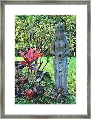 Goddess Bhudevi Mother Earth Framed Print