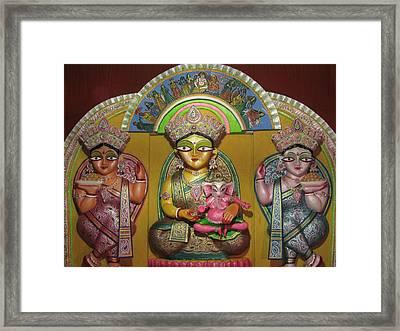 Goddess Durga Framed Print