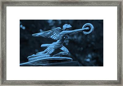 Framed Print featuring the photograph Goddess Hood Ornament  by Patrice Zinck