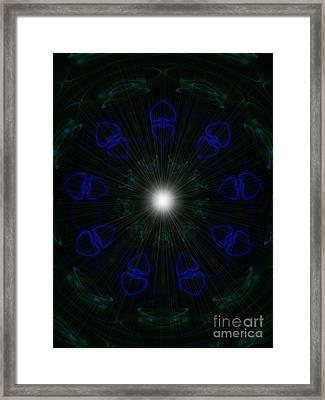 Goddess Love Framed Print by Roxy Riou