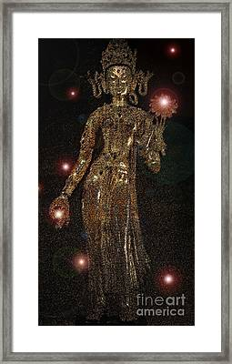 Goddess Magic By Jrr Framed Print by First Star Art