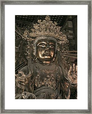 Goddess Of Compassion Framed Print by Jean Hall