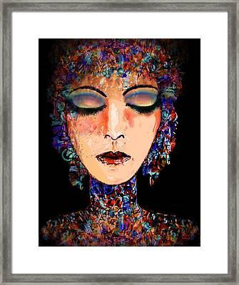 Goddess Of Compassion Framed Print by Natalie Holland
