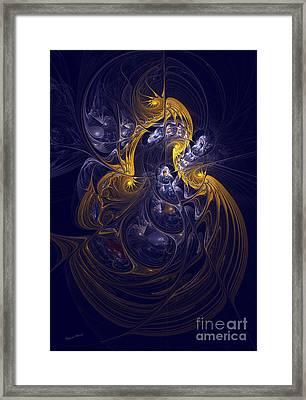 Goddess Of Healing Energy Framed Print