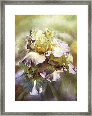 Goddess Of Memories Framed Print by Carol Cavalaris