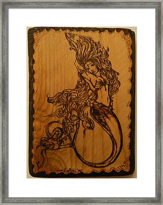Goddess Of The Deep Framed Print by William Waters