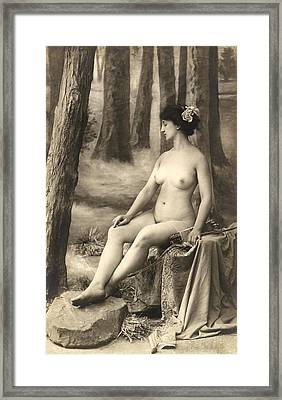 Goddess Of The Hunt Framed Print by Underwood Archives