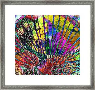 Goddess Of The Sea Framed Print