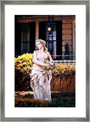 Goddess Of The South Framed Print by Renee Sullivan
