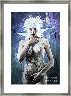 Goddess Of Water Framed Print by Michael Volpicelli
