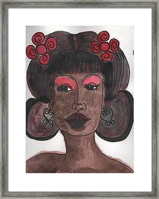Goddess One Framed Print