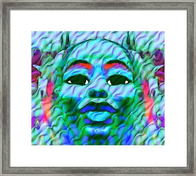 Goddess Oshun 2 Framed Print by Devalyn Marshall