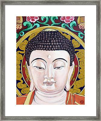 Goddess Tara Framed Print by Tom Roderick