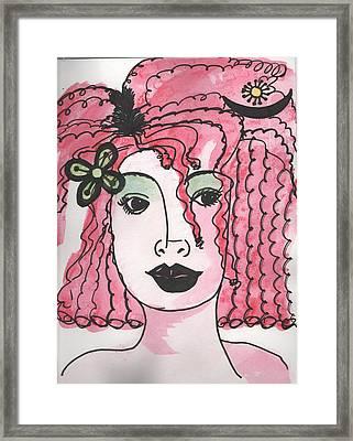 Goddess Two Framed Print