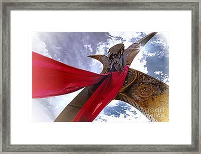 Godess Framed Print by David Taylor