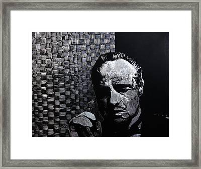 Godfather Framed Print by Jeremy Moore
