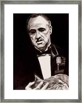 Godfather Framed Print by Michael Mestas
